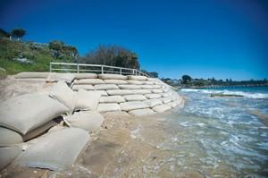 portsea sandbags 03-12-2012