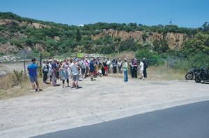 quarry protest 412