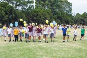 Flinders Christian College Walk for Luke.