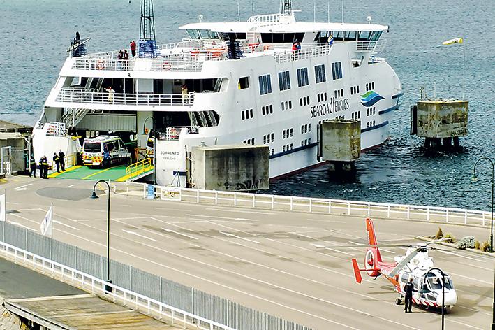 ferry emergencyH