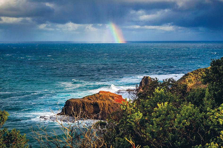 cape schanck rainbow 1