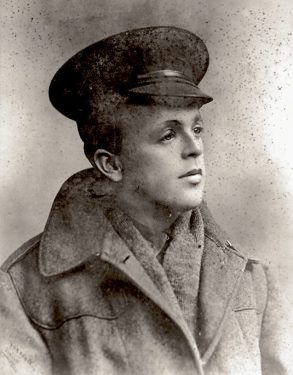 Private Arnold Roy Bartram.