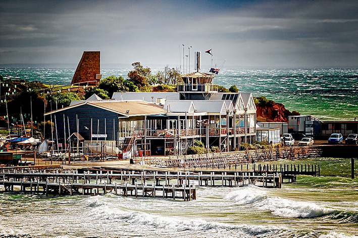 Prime position: Mornington Yacht Club has won a new 21-year lease from Mornington Peninsula Shire, which manages Crown land on behalf of the state government. Picture: Yanni