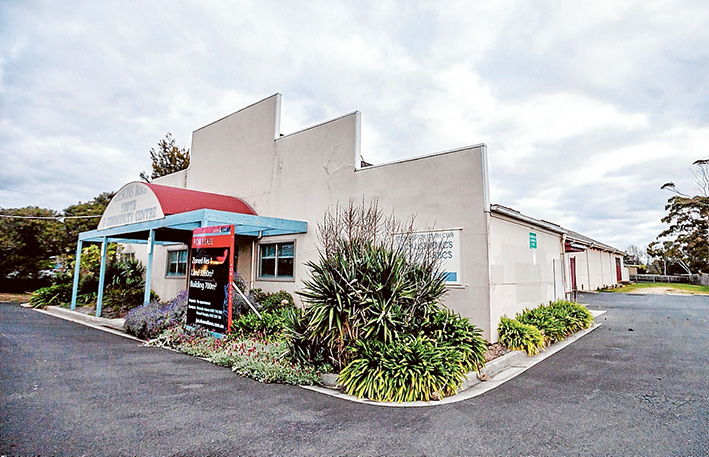 End of an era: The former Mornington home of Peninsula Post, then an undergarment factory and until recently a youth club is set to become 28 apartments. Picture: Yanni