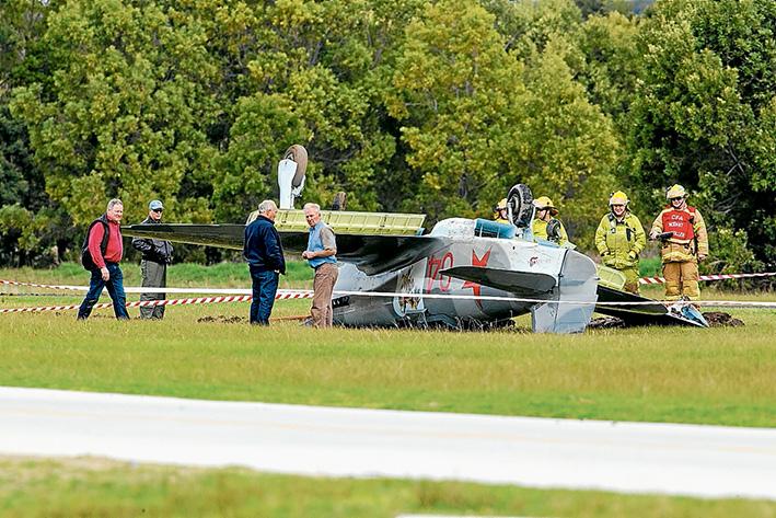 Plane Crash Tyabb