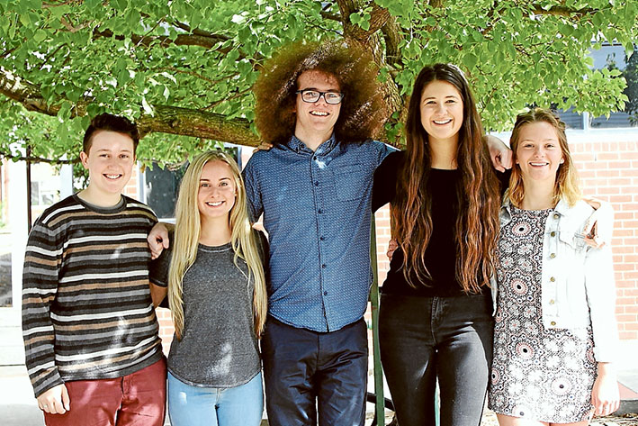 Mornington Secondary College students with ATAR scores of 90 and above were Bastian Merson, Bonnie Hillman, Stuart Boyd, Hannah Chambers, Saskia Bauer Lodge.
