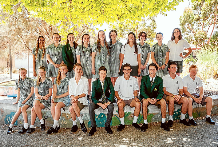 Top of the class: Rosebud Secondary College students who gained high scores in the VCE results. Picture: Yanni