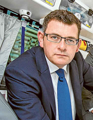 Premier pledge: Daniel Andrews has vowed to give police the resources to smash gangs involved in violent burglaries and car thefts.