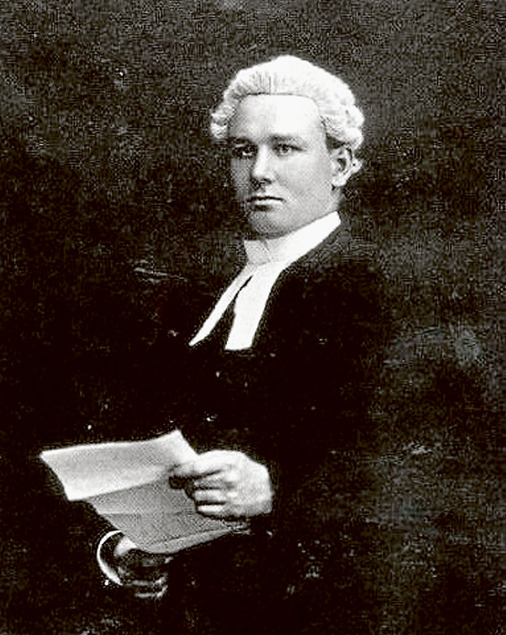 Pompey Elliott as a young lawyer