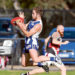 Kangas devoured by Sharks: Langwarrin failed to fire, scoring just 15 points for the match against Bonbeach. Picture: Scott Memery