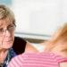 Watchful eye: Peninsula Health breast care Nurse Rhonda Barnes with a client.