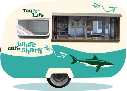 """Van appeal: The """"funky old school"""" caravan that Tag For Life wants to buy with a crowdfunding appeal being launched through Pozzible. Graphic: Supplied"""