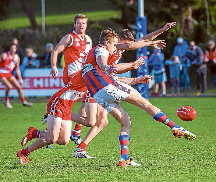 Demons back from the brink: Rye have turned around their fortunes in a matter of weeks. Picture: Andrew Hurst