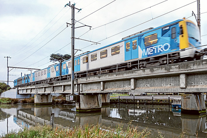 High and dry: Labor state government says extended elevated rail not on cards for the Frankston line. Pic: Gary Sissons