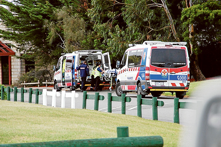 Time vital: Quick response times by paramedics can save lives.