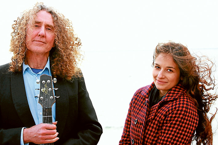 Heading off: Steve Romig will launch his new album at Mornington this week before heading overseas. He'll be joined on stage by fellow singer songwriter, Felix Thorne. Picture: Supplied