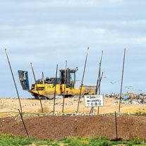 The Rye tip is to get an extended life while Mornington Peninsula Shire joins other municipalities in seeking alternative ways of waste disposal. Picture: Yanni