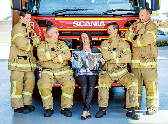 Good cause: Michelle Donovan has a job many would envy. Picture: Yanni