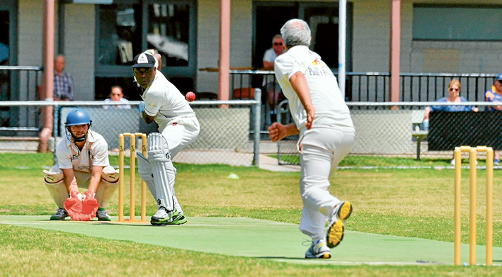 Crib Point wins the battle of the birds: The Magpies accounted for the Eagles with three wickets spare. Henry Dolphin (pictured) scored 42 in the win. Picture: Rab Siddhi